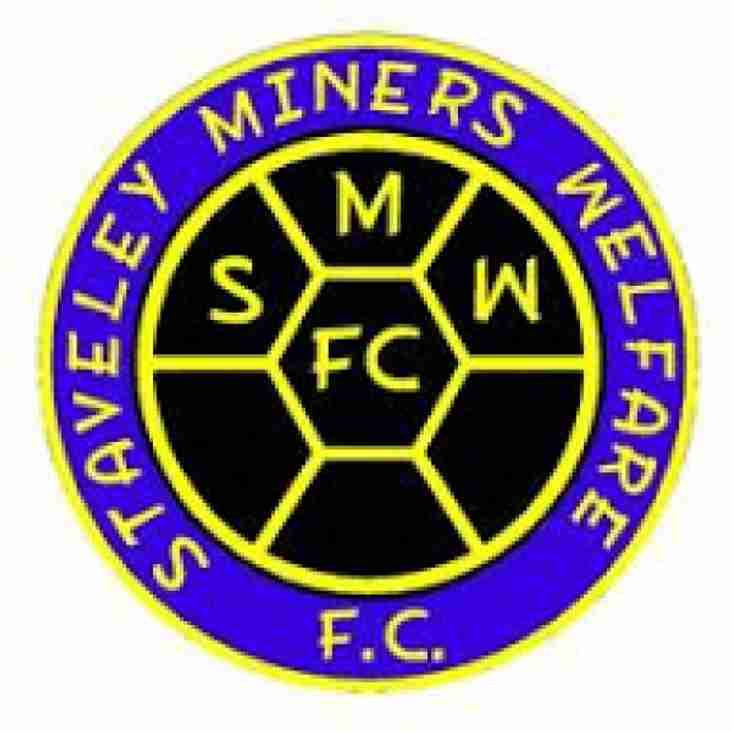 First Team vs Staveley MW (H) - Tuesday 6th November