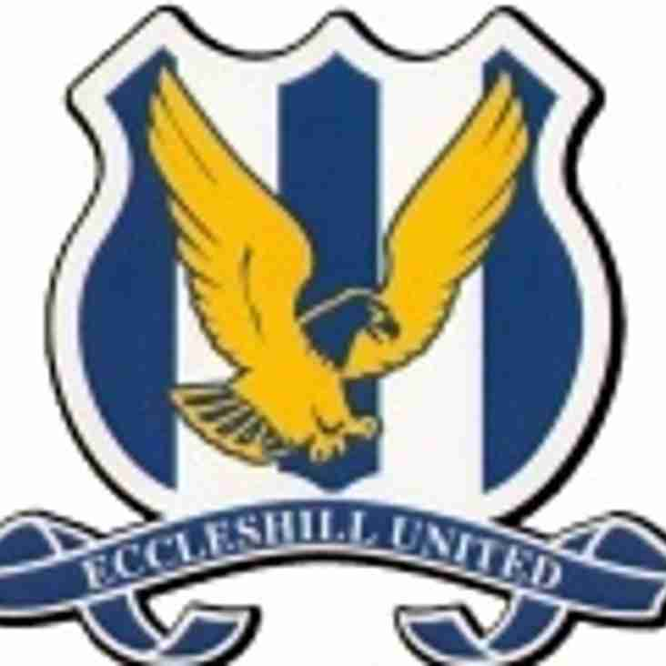 First Team vs Eccleshill United (H) - Saturday 29th December