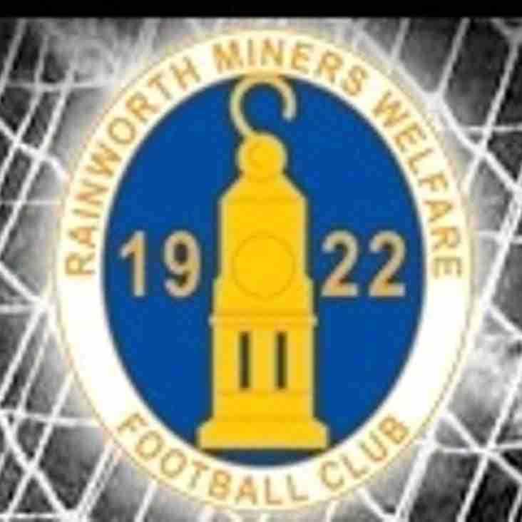 First Team vs Rainworth MW (A) - Saturday 17th February