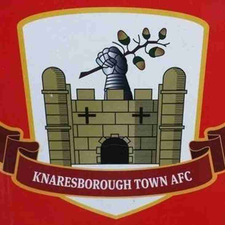 First Team vs Knaresborough Town (H) - Tuesday 11th September