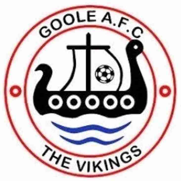 First Team vs Goole AFC (A) - Saturday 1st December