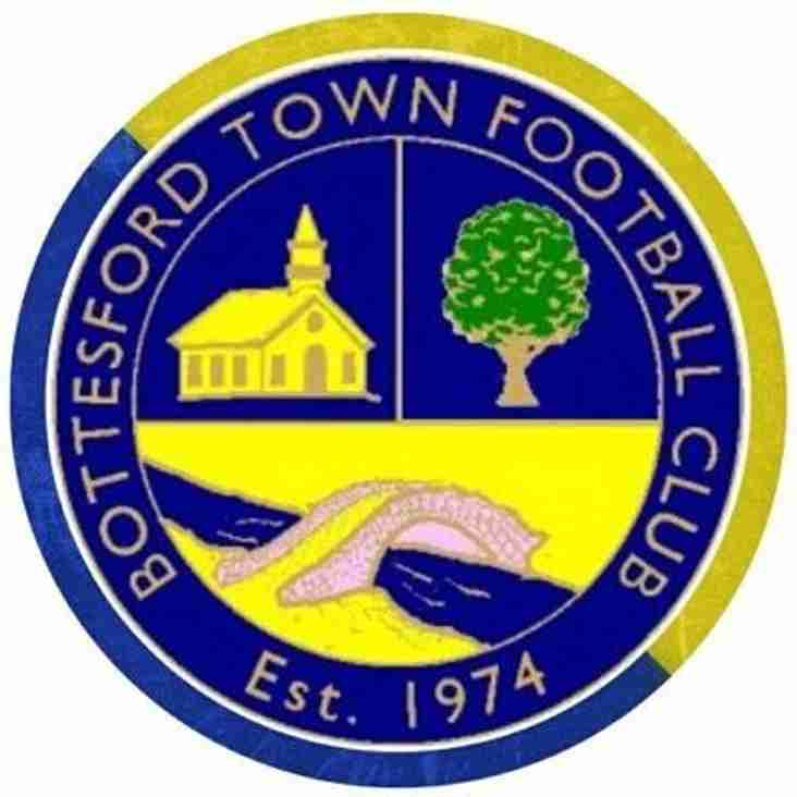 First Team vs Bottesford Town (A) - Saturday 20th October