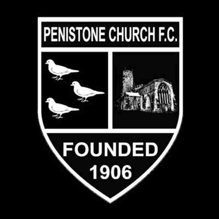 First Team vs Penistone Church (H) - Saturday 22nd September