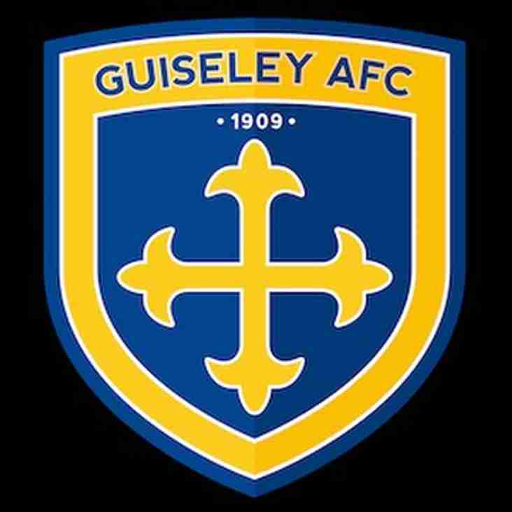 First Team vs Guiseley (H) - Tuesday 7th November
