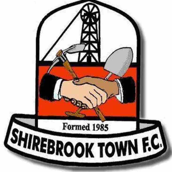 First Team vs Shirebrook Town (H) - Tuesday 30th October