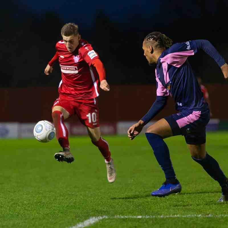 Hemel Hempstead Town 1-0 Dulwich Hamlet
