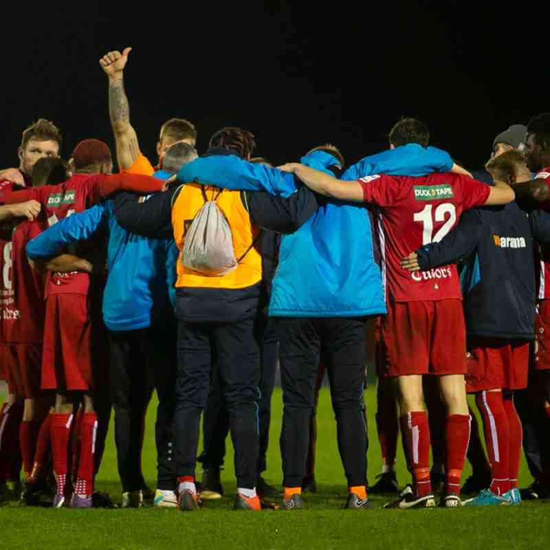 Hemel Hempstead 1-1 Welling United