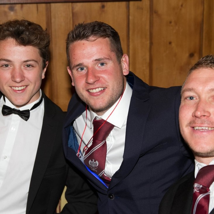 Hoggy hatrick at the BHC Annual Awards dinner<
