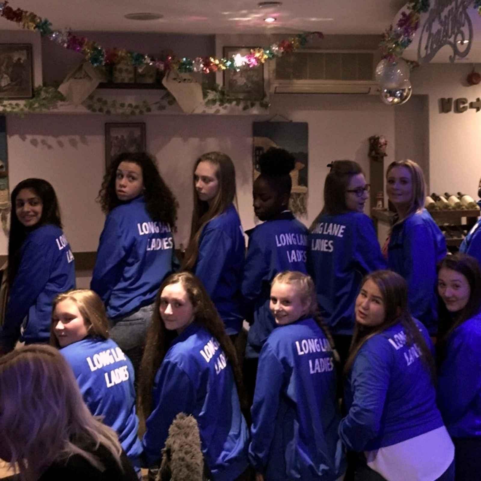 U16 Girls away to Petts Wood