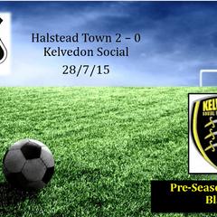 Halstead 2 - 0 Kelvedon Social