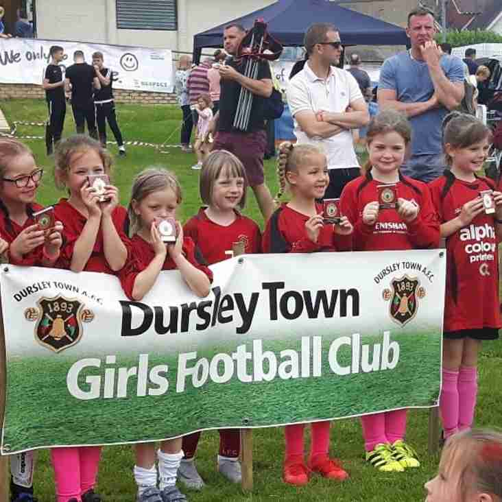 Girls football continues to grow at QWFC