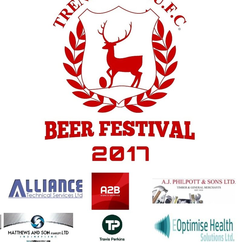 Trentham Beer Festival is upon us - a massive thank you to our sponsors