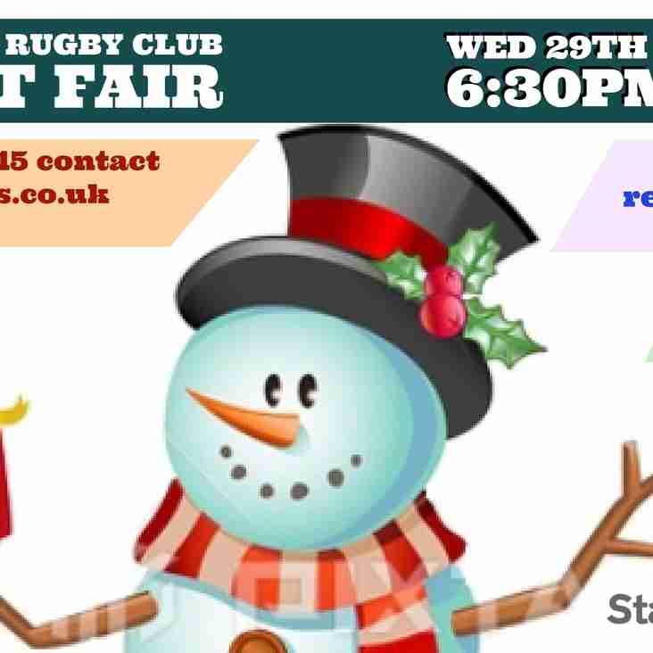 Trentham Rugby Club Crafts Fair