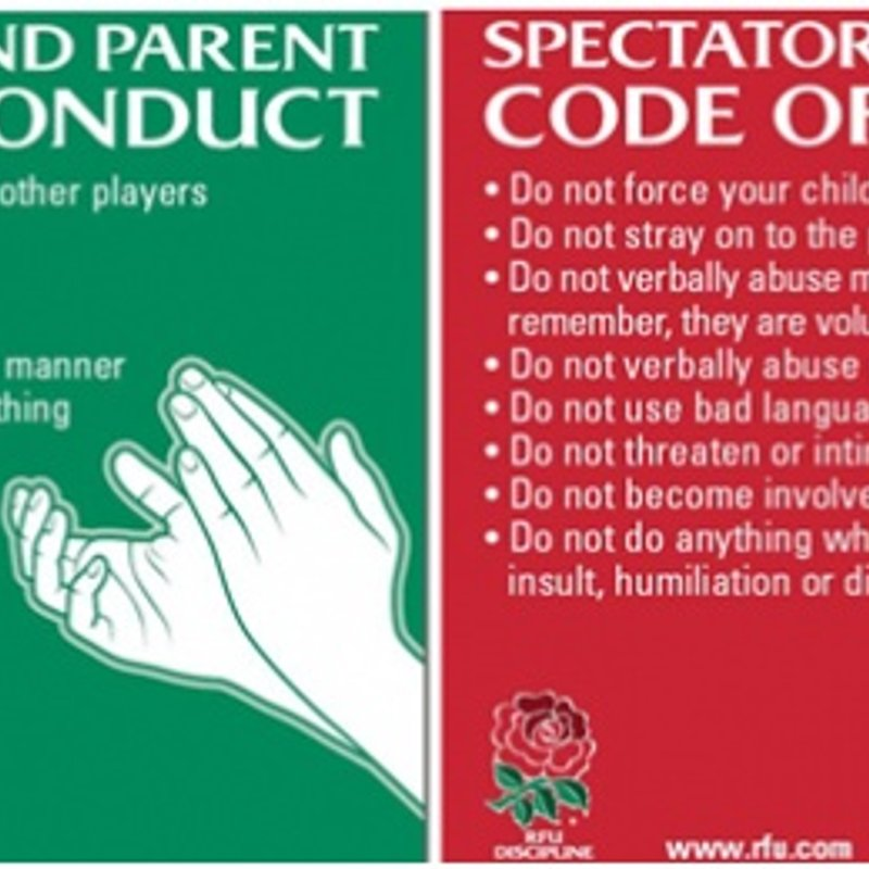 Rugby Code of Conduct