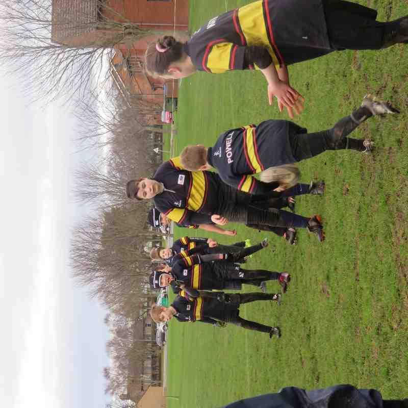 Training at Kinloss - 24/1/16