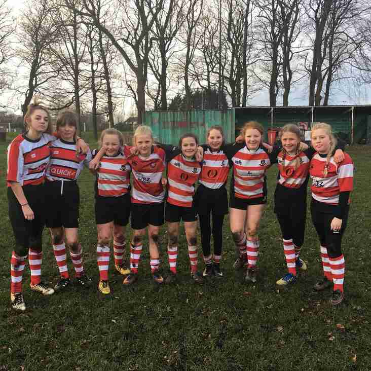 Cleckheaton U13 Girls find inspiration from recent success