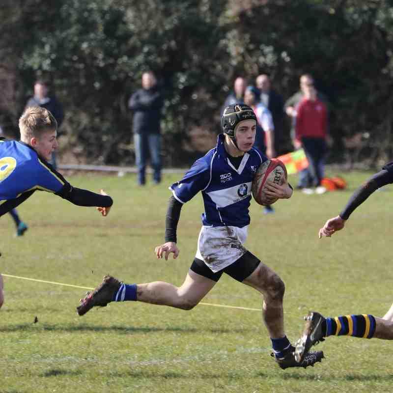 Bishops Stortford U16 B's vs Hertford March 2016