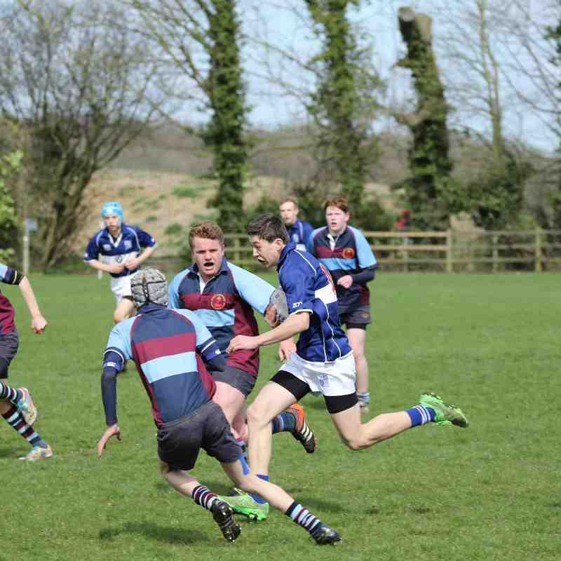 Bishops Stortford U16 B;s vs Barnett April 2016