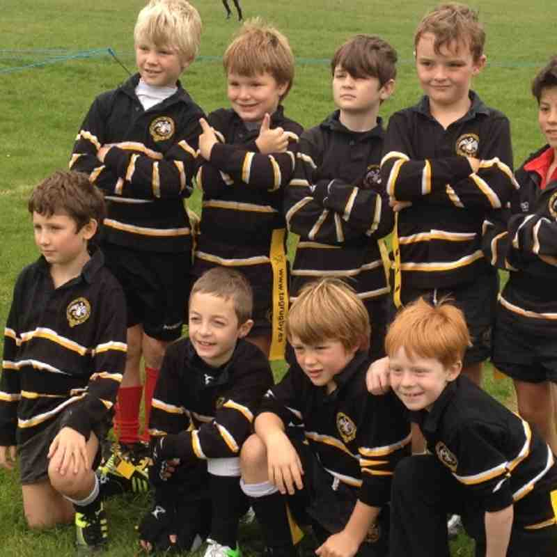 U8's at Pontyclun Festival 30 Sept 2012
