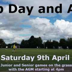 Club Day and AGM - Saturday 9th April