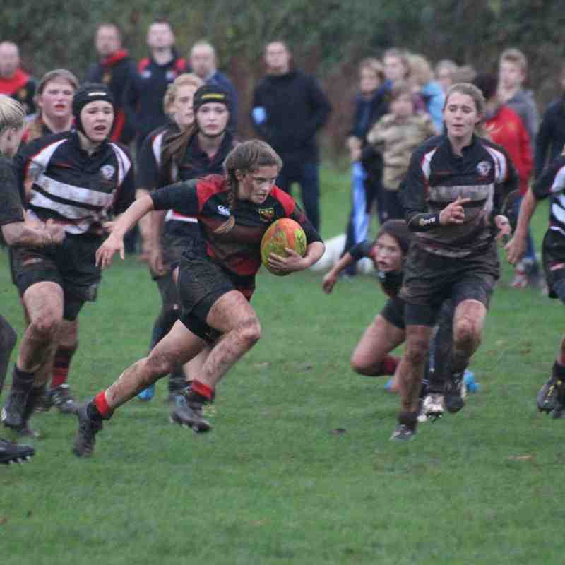 U18 Girls - CullyWelly v Winscombe