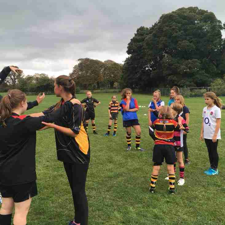 Girls Rugby at Tring - This Sunday