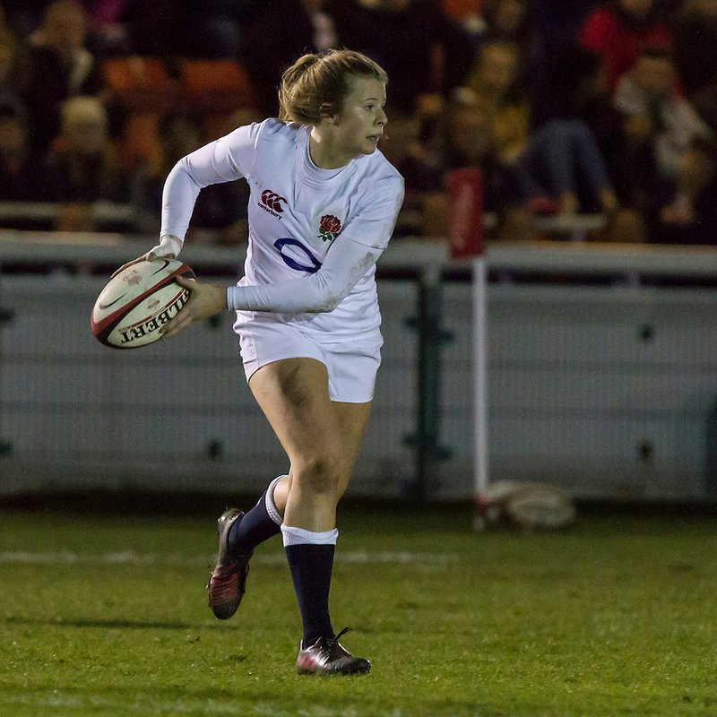 Girls Rugby Train with England and Saracens, Zoe Harrison this Sunday