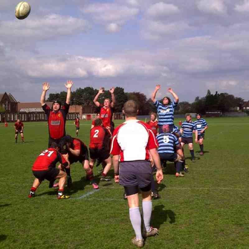 Lordswood Dixonians 1st XV vs Shrewsbury 1st XV