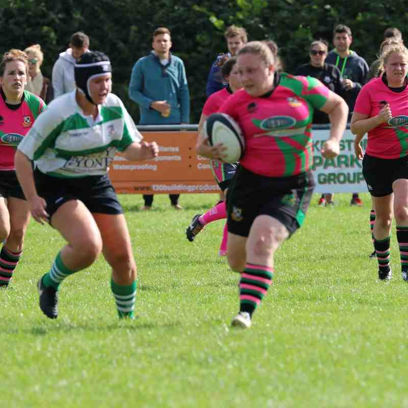 Westbury Ladies vs Chew Valley 18/09/16