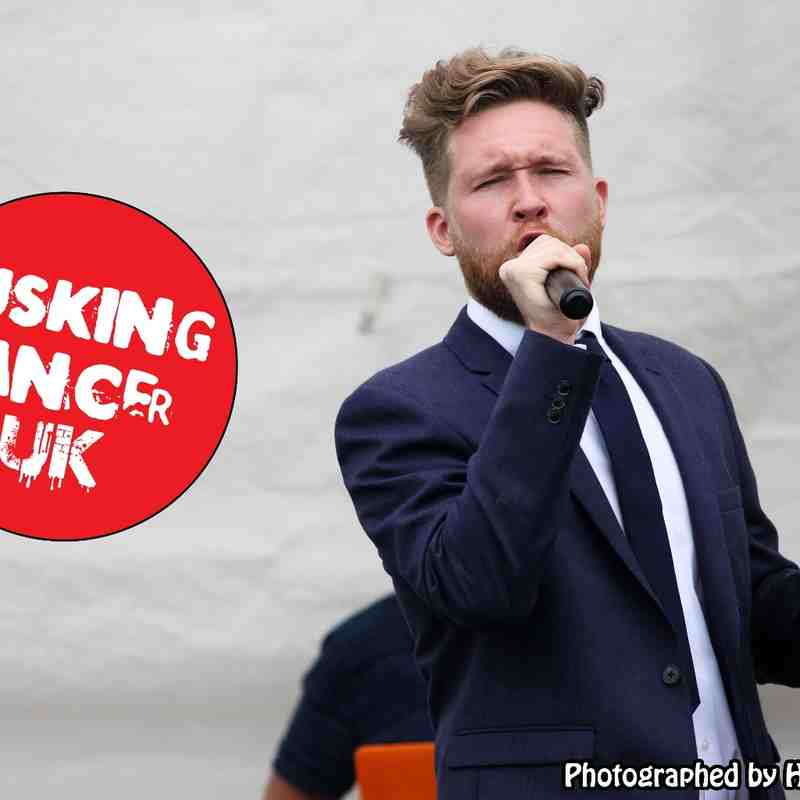 Busking Cancer UK 24/05/15
