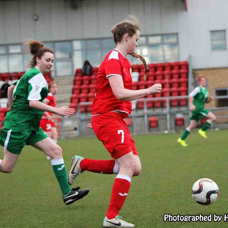 Harlow Town Ladies v Valley Green 15/11/2015