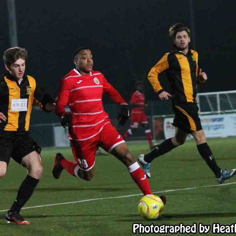 Harlow Town Under 21 v Cheshunt 23/03/2016