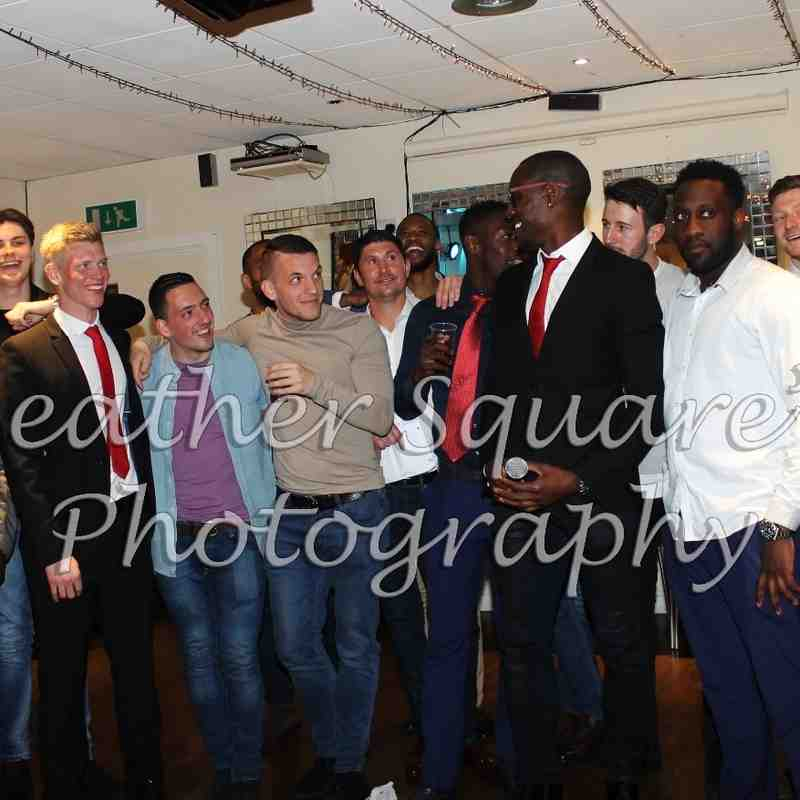 First Team's Presentation Evening