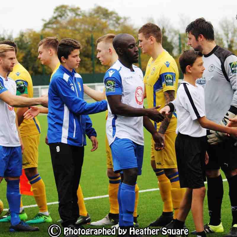 Aveley v Soham Town Rangers 14/10/2017