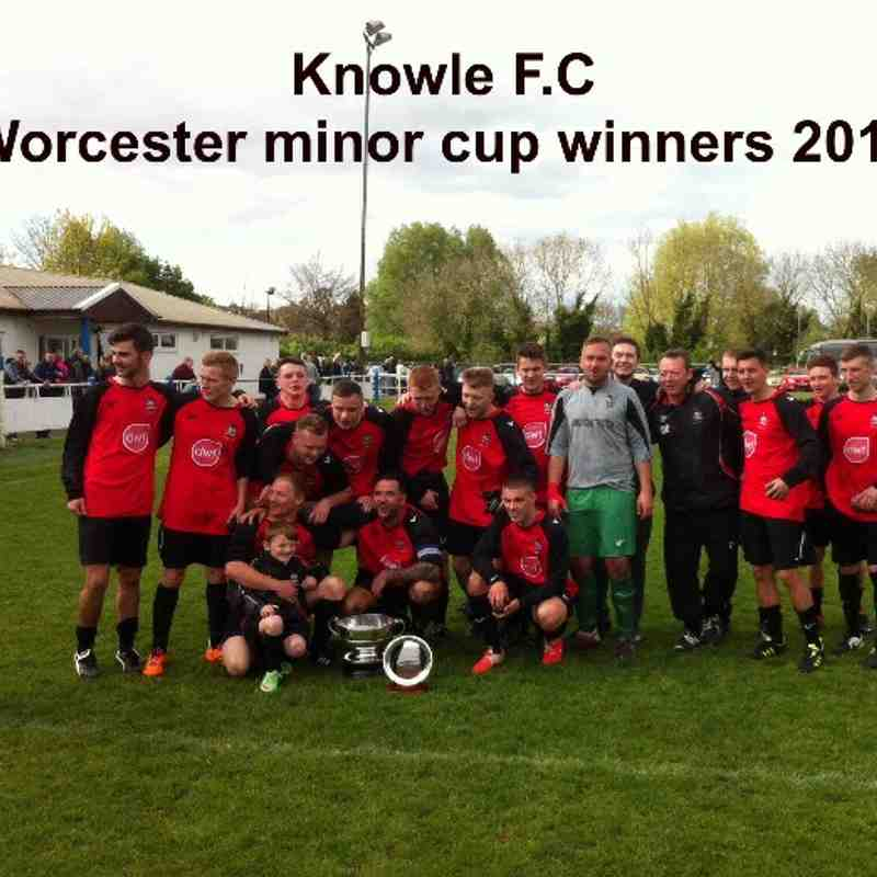 Worcester minor cup winners 2013/14
