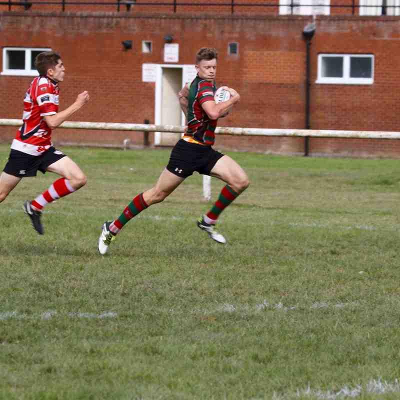 Wrexham 1st v Rhyl 1st Sept 18
