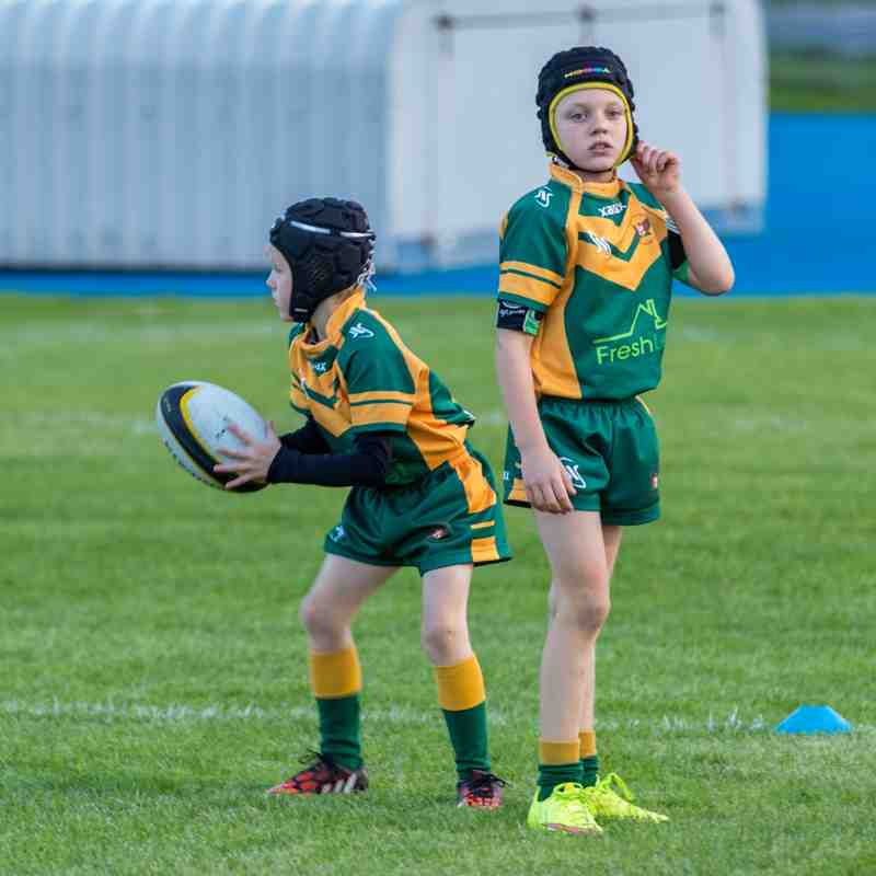 Woolston U7's Green and Gold curtain raiser 09/10/15