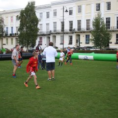 Cheltenham Tigers host rugby in Imperial Gardens