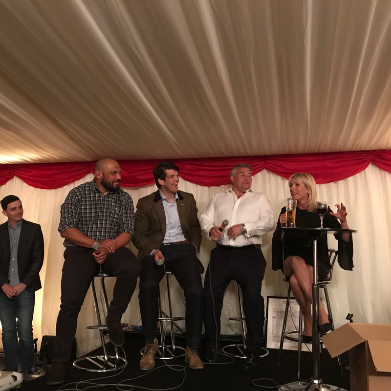 Hugely successful Pre-Lions Tour Dinner full of fun and amazing fundraising