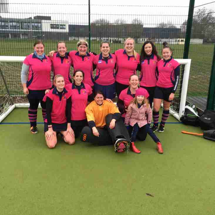 Ladies 2's faced New forest away finally!!