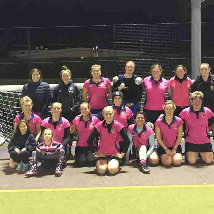 Ladies 2's faced the arrivals Southampton 5's