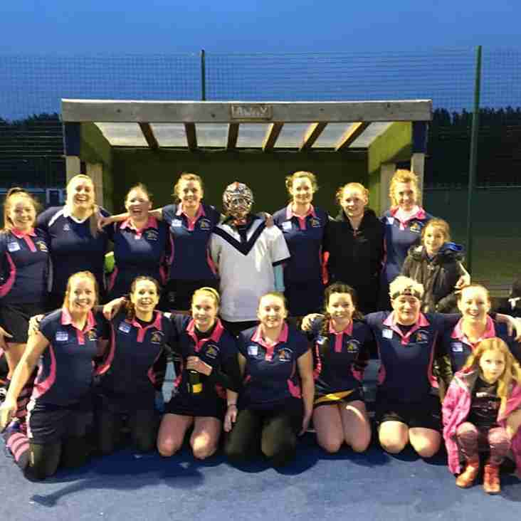 Ladies 2's face Trojans 5's away. 2017/ 2018