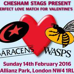 Stags take over Saracens 'Love Match'