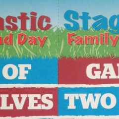 Stagtastic Game of Two Halves