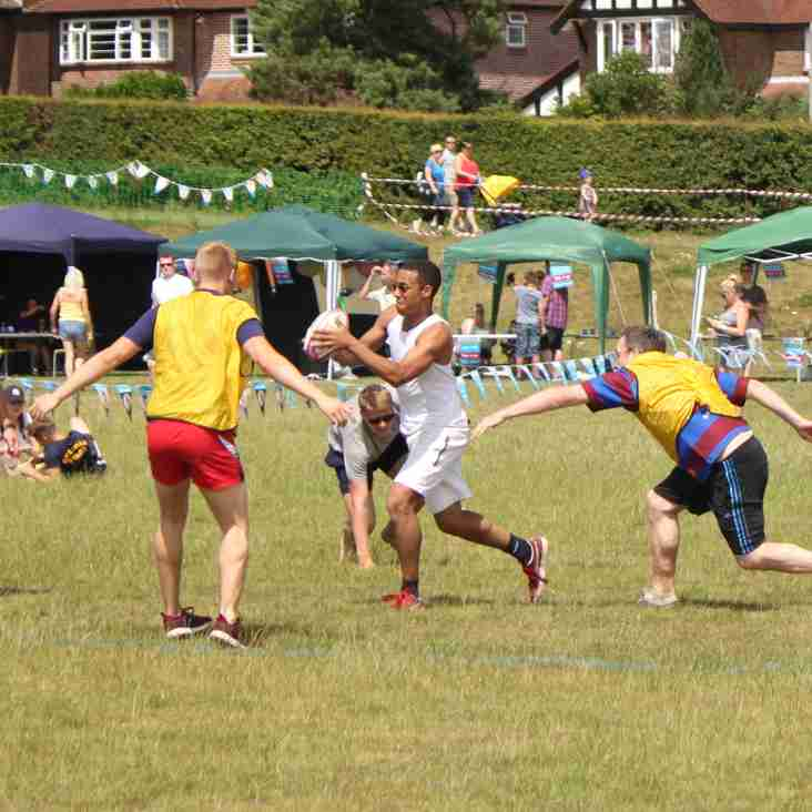 Touch rugby knockout competition