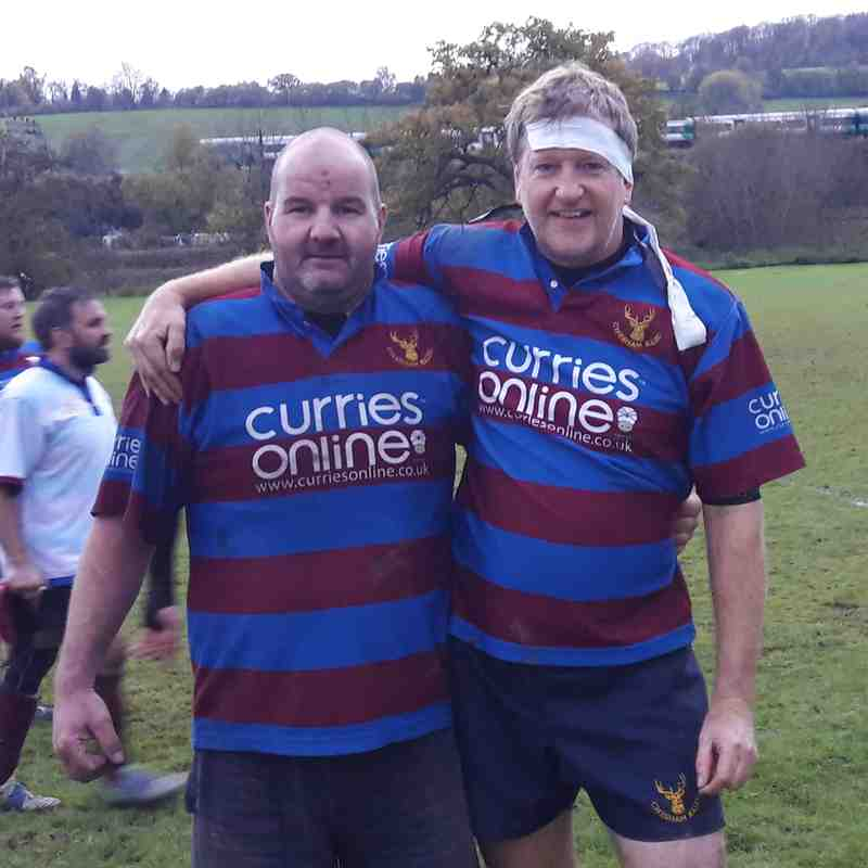 Under 15 Coaches playing for 3rd XV