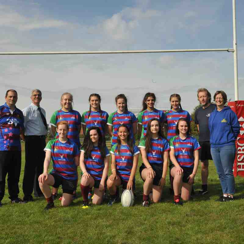 Chesham Stags Junior Girls 2017-18