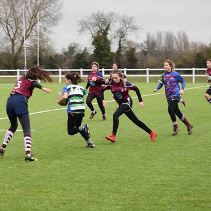 Chesham/Wycombe U15's 37 vs Bletchley U15's 10