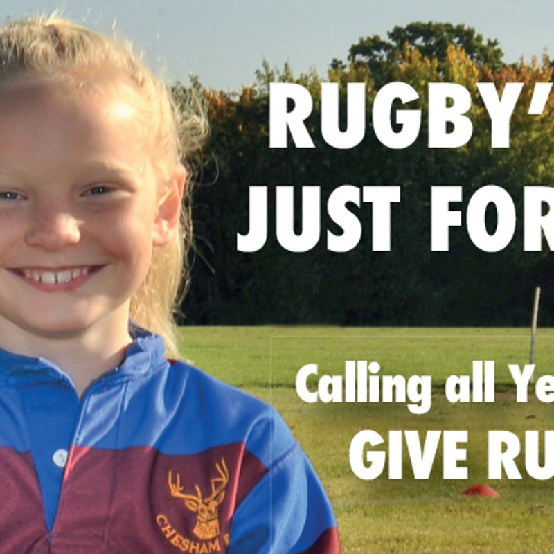 RUGBY'S NOT JUST FOR BOYS!