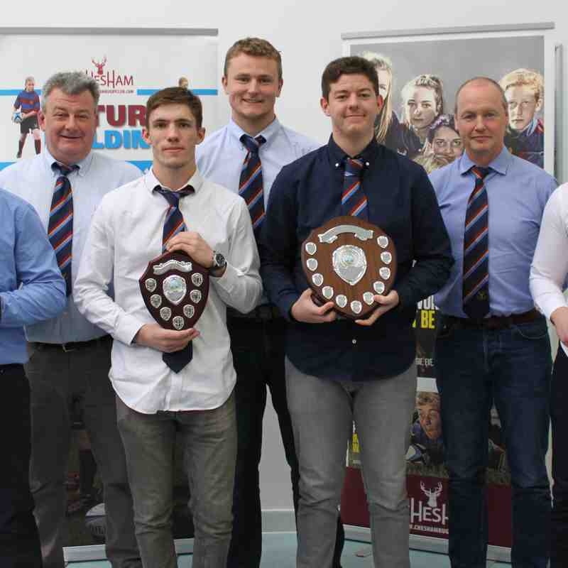 Chesham Stags Mini and Junior Awards 2017-8